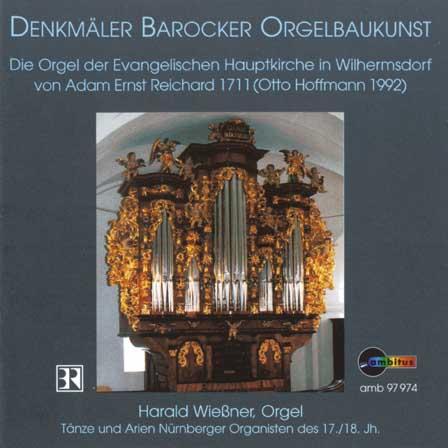 Tänze und Arien Nürnberger Organisten