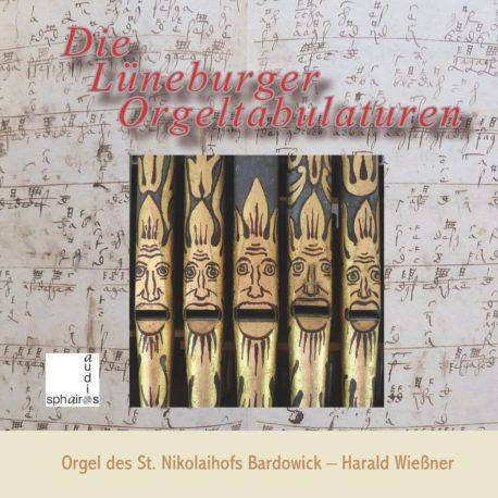 Titelseite Lüneburger Tabulaturen